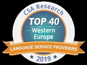 IPAC et le Groupe Tradutec installés dans le TOP 40 européen des sociétés de traduction